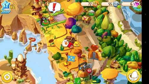 Review Angry Birds Epic Tawarkan Gameplay Turn Based RPG 1
