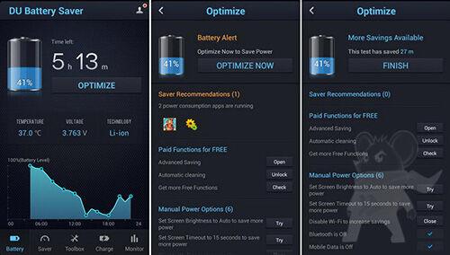 4 Aplikasi Penghemat Baterai Terbaik Untuk Android1
