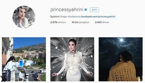 Akun Instagram Artis Indonesia 2
