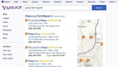 Tampilan Baru Search Engine Yahoo