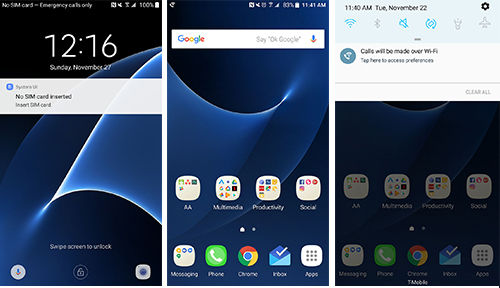 Foto Androidauthority Ui Nougat Samsung Beta 1
