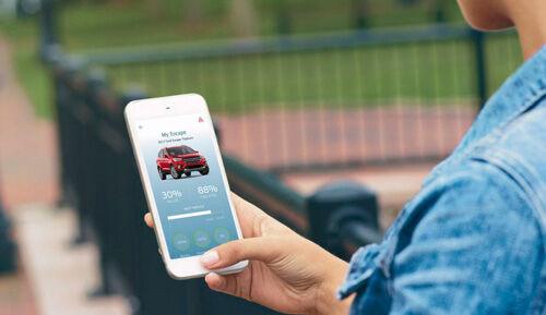 Fitur Kunci Pintu Mobil Ford Escape Modal Smartphone 1