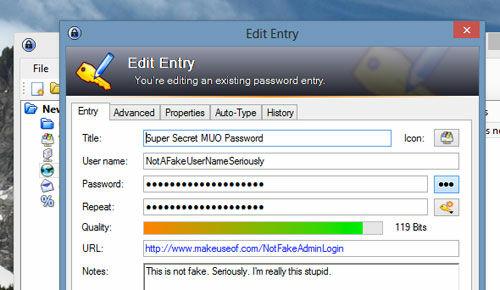 Cara Aman Simpan Password Keepass 3