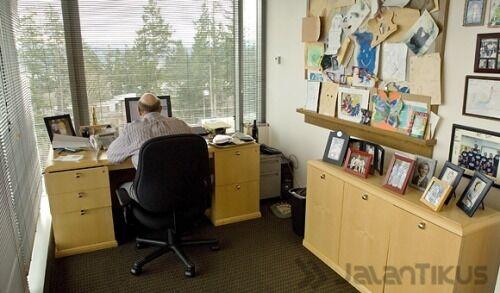 25 Foto Ruang Kerja Tokoh Tokoh Terkenal Di Dunia 20