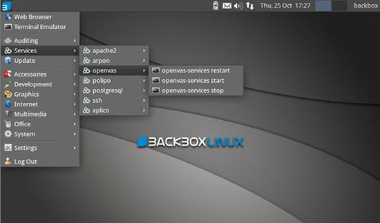 sistem operasi hacker terbaik BackBox
