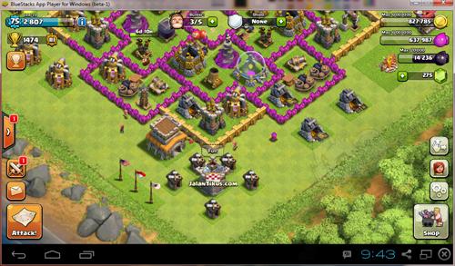 Cara Main Clash Of Clans Di Pc 3