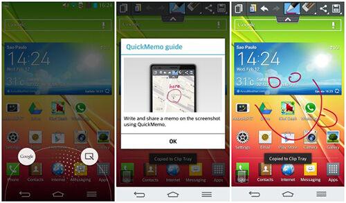 Dua Cara Screenshot Di Smartphone LG G2 2