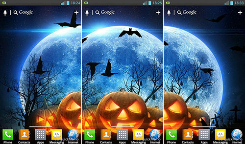 Halloween Live Wallpaper 2