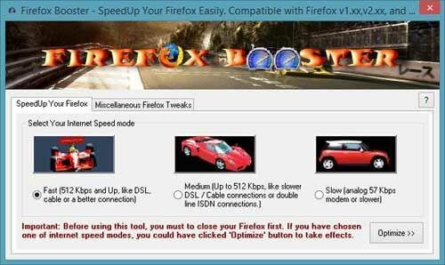 Firefox Booster 1