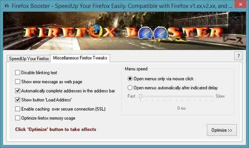 Firefox Booster 2