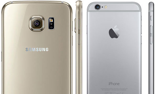 Iphone 6 E >> 5 Kemiripan Samsung Galaxy S6 Dengan Apple Iphone 6