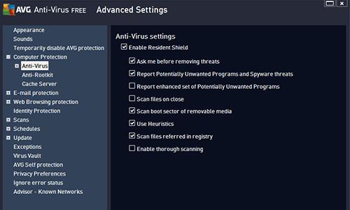 Avg Antivirus Screenshot 3
