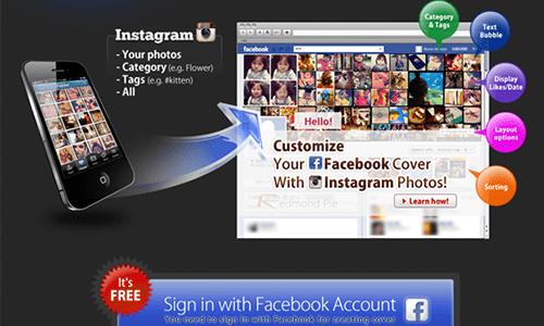 Cara Mengganti Cover Foto Facebook Dengan Foto Instagram 1