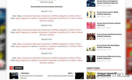 10 Situs Download Drama Korea Subtitle Indonesia Terbaru 2021 Jalantikus