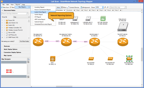 Foto Solarwinds Networkmapping