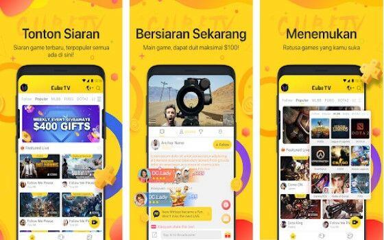11 Aplikasi Live Streaming Game Terbaik 2019 (Android