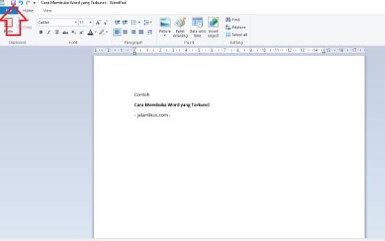 Cara Membuka Microsoft Word 2016 Yang Terkunci
