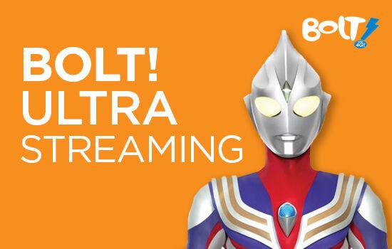 Paket Internet BOLT! Ultra Streaming