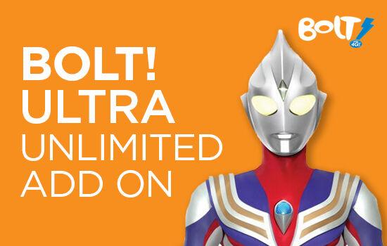 Paket Internet BOLT! Ultra Unlimited Add On