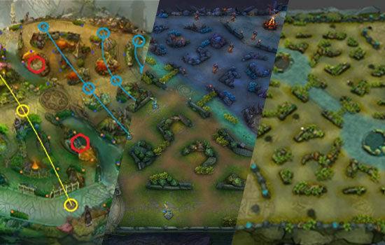 perbedaan-ml-aov-vainglory-maps