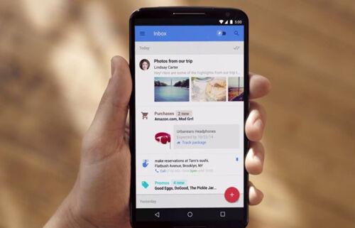 Google Inbox Home