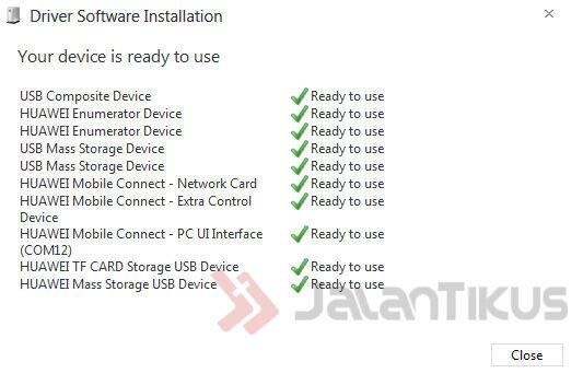 cara install driver modem zte mf90