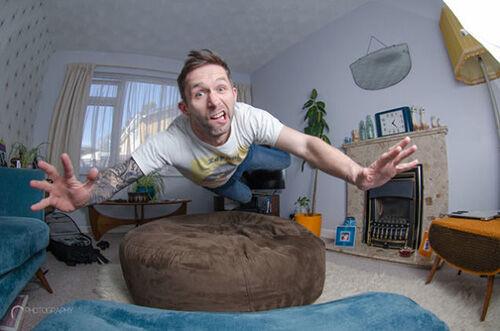 Selfie Photoshop Derek Johnson 1