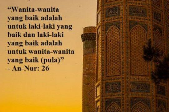 63 Gambar Kata Bijak Islami Terbaru Gratis Terbaik
