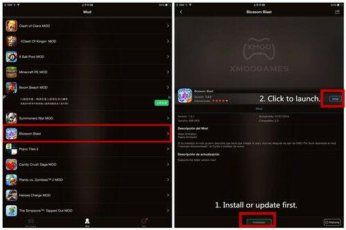 Mod Blossom Blast Saga Android 1