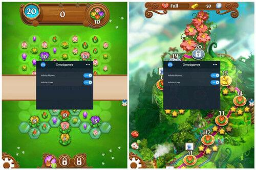 Mod Blossom Blast Saga Android 3