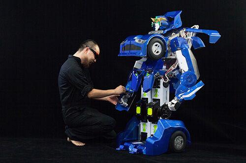 Pengembang Jepang Berhasil Ciptakan Transformers2