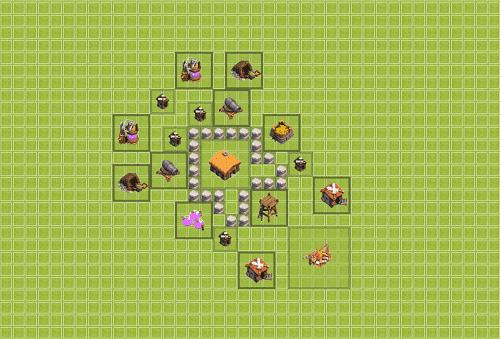 Base Clan War Th 2