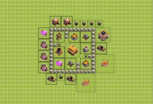 Base Clan War Th 3