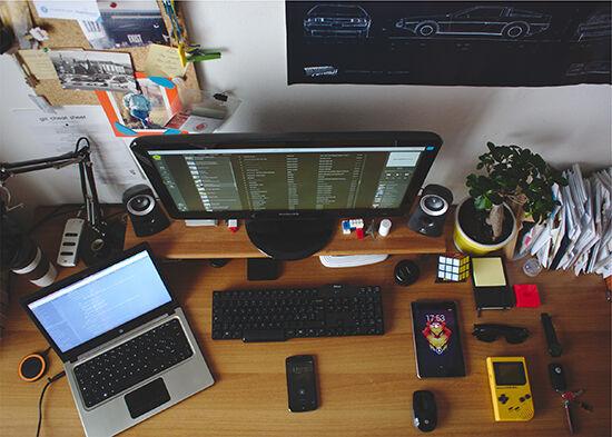 pilih komputer atau laptop