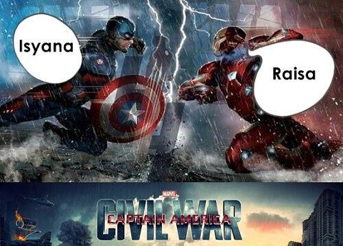 Meme Raisa Dan Isyana 5