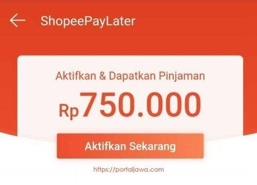 Cara Mengaktifkan Shopee Paylater Ca75b