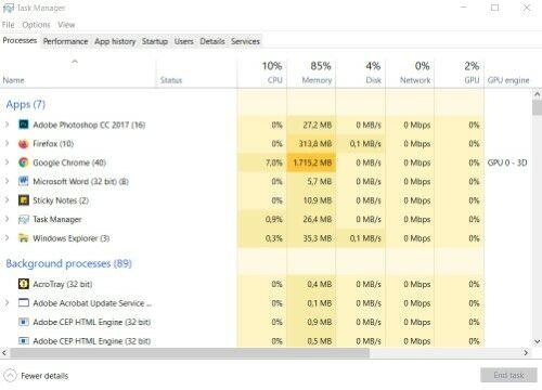 Cara Mengatasi Laptop Windows 10 Lemot A6165