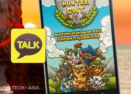 Kakaotalk Luncurkan Platform Social Game Untuk Indonesia