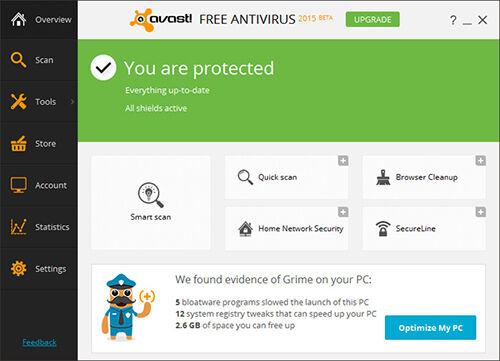 Fitur Update Avast AntiVirus 2015 Terbaru