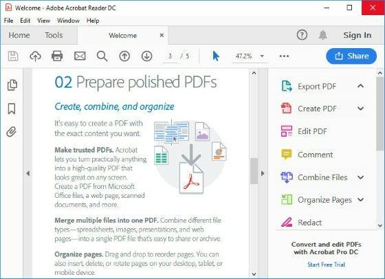 Download Adobe Acrobat Reader Dc Terbaru 2 0 0 483 Jalantikus Com