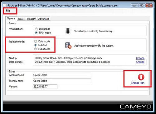 Cara Mudah Membuat Software Portable Dengan Cameyo3