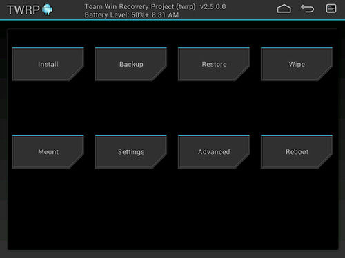 Hapus Data Android 1