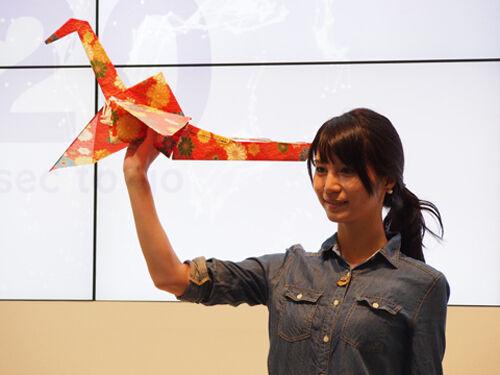 Orizuru Bangau Origami Bisa Terbang 1