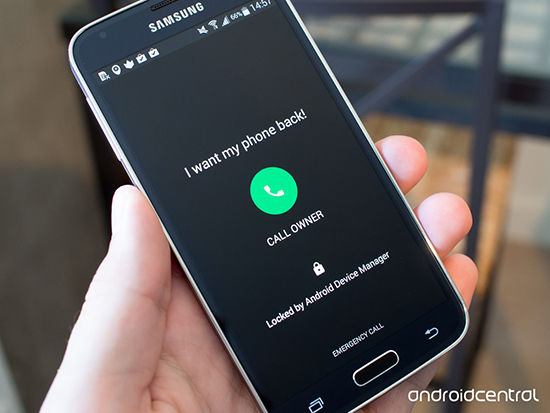 locked by android device manager