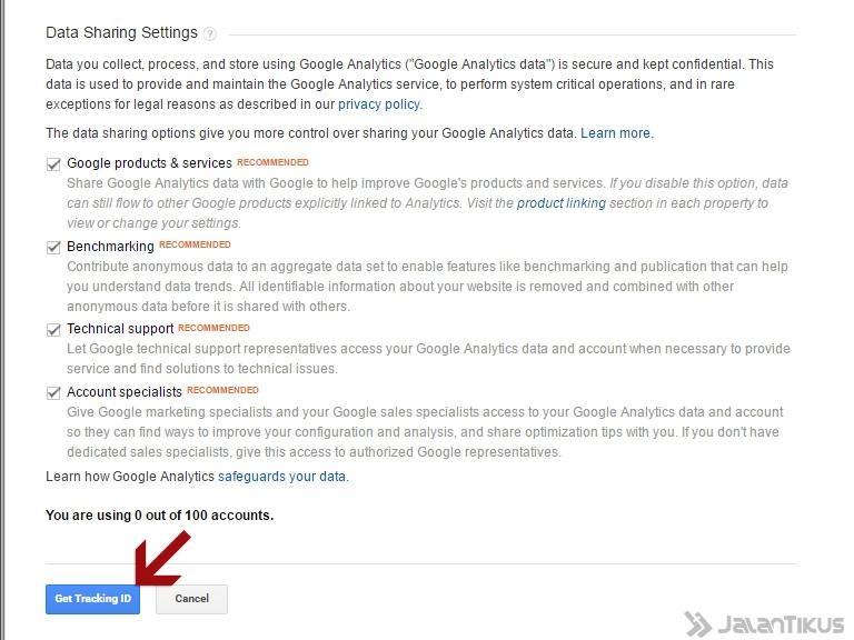 Cara Daftar Dan Memasang Google Analytics Di Blogger Jalantikus