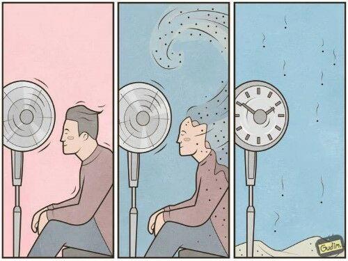Ilustrasi Menyindir Kehidupan Manusia Saat Ini 10
