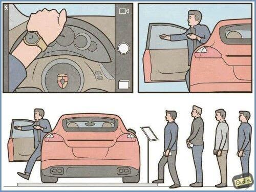 Ilustrasi Mencerminkan Kehidupan Manusia Saat Ini 7