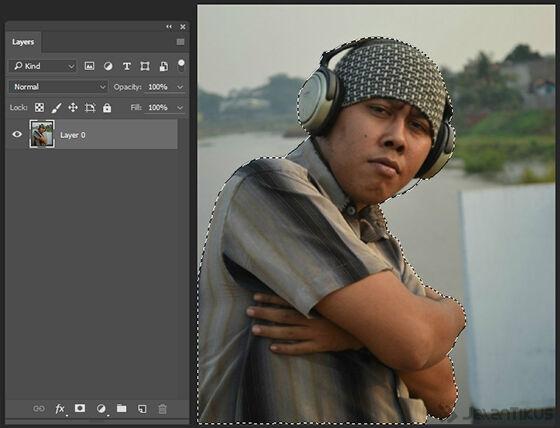 Langkah 4 - Cara Mengganti Background Foto