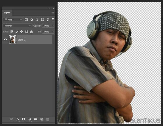 Langkah 6 - Cara Mengganti Background Foto