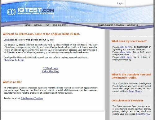 5 Situs Test Iq Online Bahasa Indonesia Terbaik 3